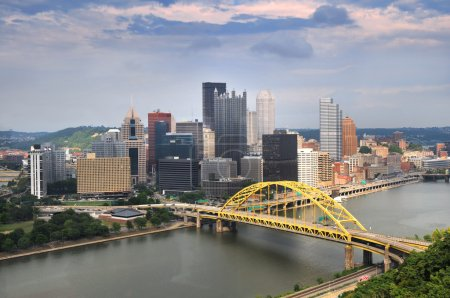 Pittsburgh Skyline During Daytime