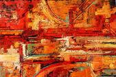 """Постер, картина, фотообои """"абстрактная живопись"""""""