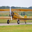 Vintage PT-17 taxiing getting ready for take-off...