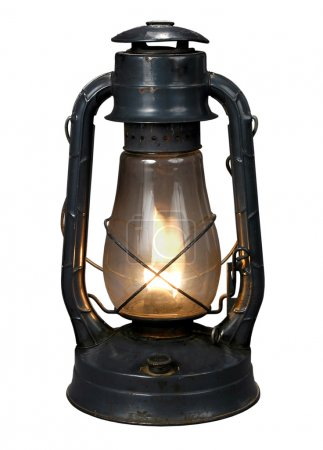 Oil Lamp (With CLipping Path