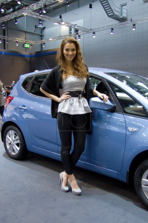 Hyundai Hostess on display at the 11th edition of International Autosalon Brno