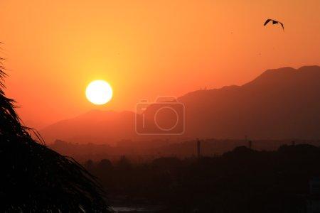 Sunset in Rio de Janeiro...