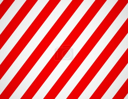 Blank Red and White Striped Background