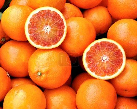Photo pour Oranges de Sicile - image libre de droit