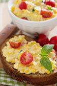 Corn and cream cheese dip