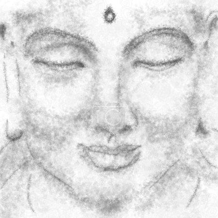 portrait of meditating yogi