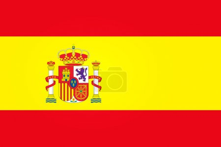 Illustration for Flag of Spain - Royalty Free Image