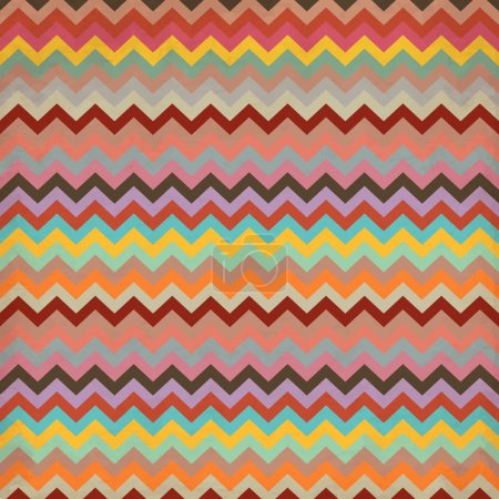 Aztec stripe pattern in pastel tints