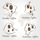 coffee producting countries