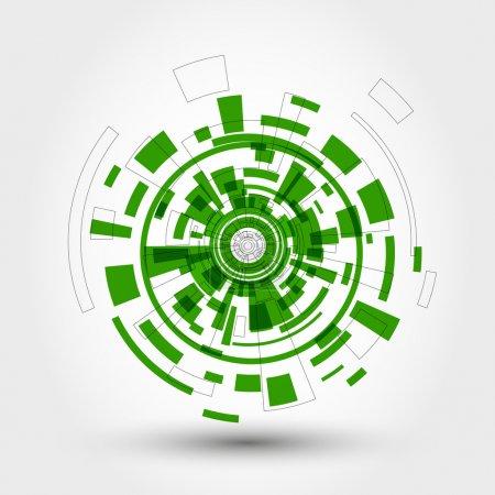 Green technical element