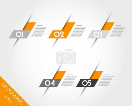 orange oblique L stickers