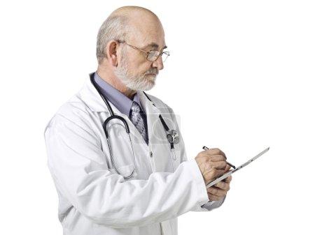 Senior male doctor