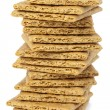 Graham Crackers in a close-up image...