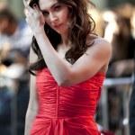 Shot of Megan Fox on the red carpet...
