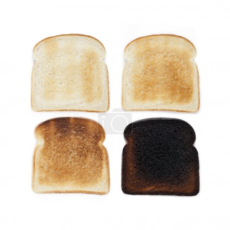 stages of toast