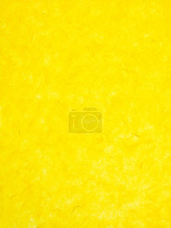 Photo for Close-up image of mottled yellow wallpaper background - Royalty Free Image
