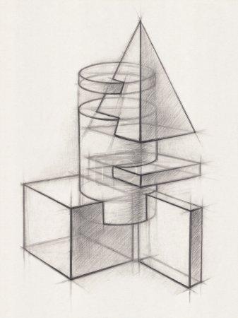 solide geometrische Formen