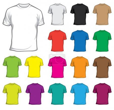 Illustration pour T-shirt-t-shirt-01 - image libre de droit