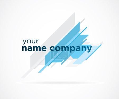 Illustration pour Logo commercial Vektor - image libre de droit
