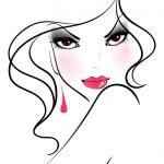 Vector illustration of beauty woman...