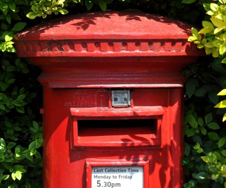 British Red Post Box