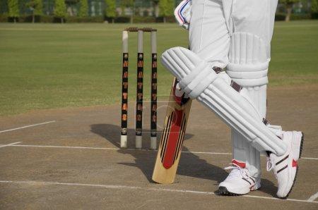 Batsman standing