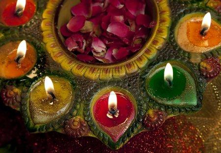 Diyas dekorativ platziert