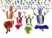 Sikh muži tančí