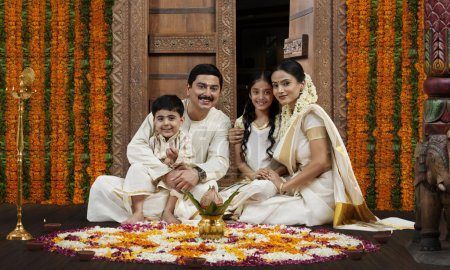 South Indian family