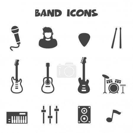 Band icons