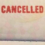 Passport Stamp Cancelled...