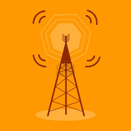 Antenna Communication Icon