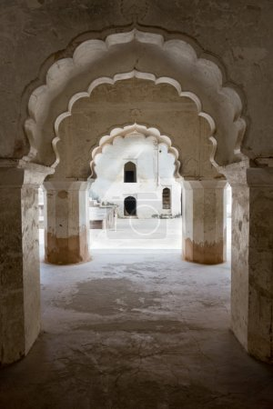 Arches at Raj Mahal