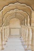 Oblouky v amber fort poblíž jaipur