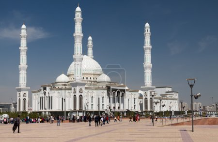 View of Hazrat Sultan Mosque