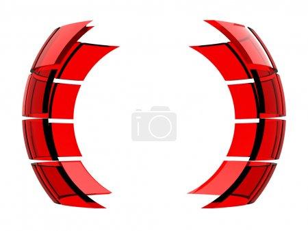 Foto de Abstracto 3d logo bola esfera - Imagen libre de derechos