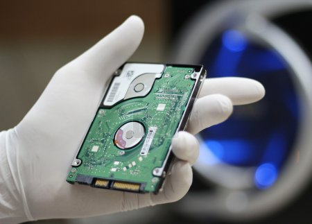 Hard drive disc production