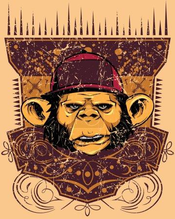 Monkey rapper