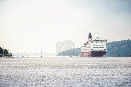 VIKING LINE MS Mariella trafficking the Stockholm archipelago