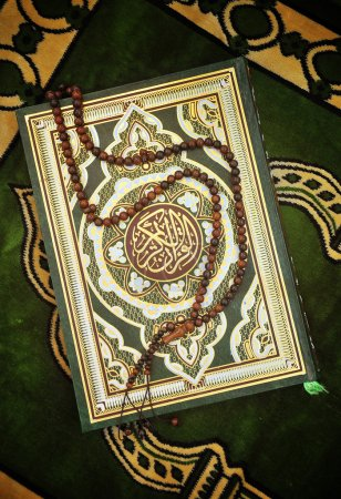 Holy Quran Book With Rosary