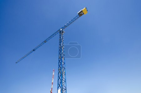 Inustrial construction crane