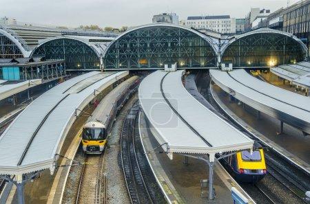 Paddington railway station in London