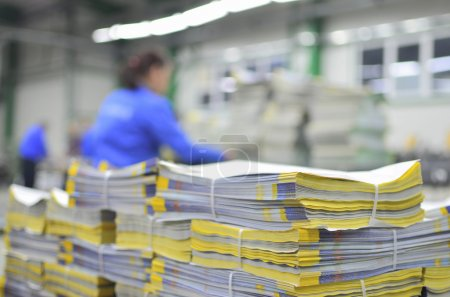 Printed material packets
