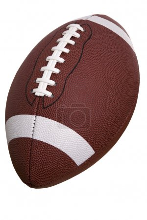 College football isolated on a white background