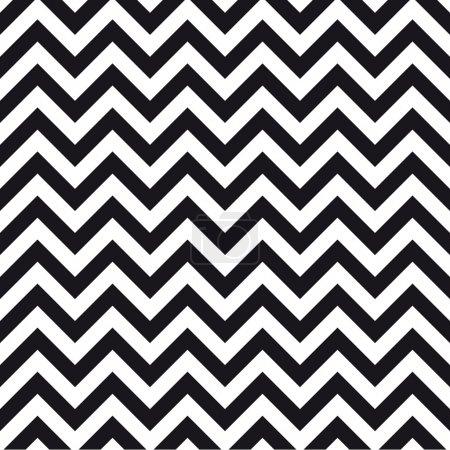 Illustration pour Chevrons fond de motif sans couture design vintage rétro - image libre de droit