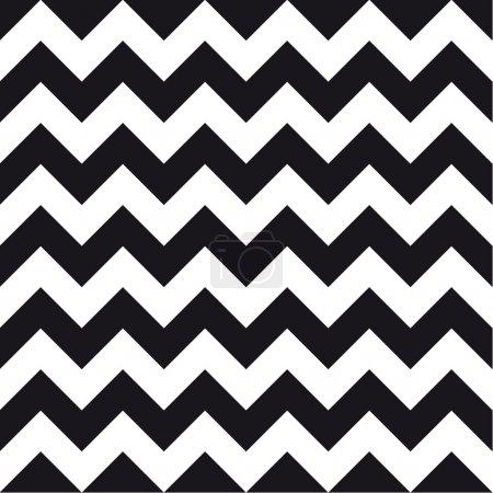 Illustration for Chevrons seamless pattern background retro vintage design - Royalty Free Image