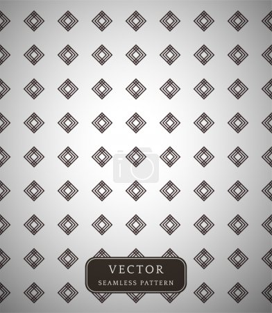 Seamless vector pattern with small diamonds.