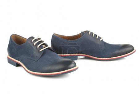 Blue man shoes