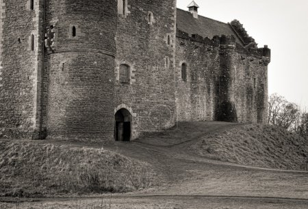 Entrance to Scottish Castle