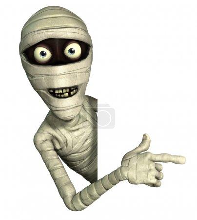 Halloween mummy...